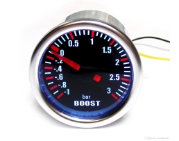 Уред за измерване налягането в турбината Vertex Boost Meter до 3Bar , 52мм