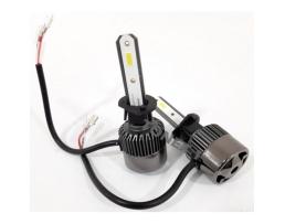 Комплект LED Лед Диодни Крушки за фар R9 Mini Amio H1  50W - 10800Lm 6000K Cool White Над 200% по-ярка светлина. 1кт.