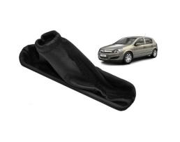 Маншон за лост ръчна спирачка Подходяща за Opel Astra H Eren  Качествена Еко кожа 1бр.