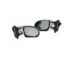 Универсални бели огледала за автомобил странични ляво, дясно 2бр 1кт.