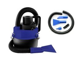 Прахосмукачка за кола Automax с маркуч , 4 приставки и функция за напомпване на нудуваеми играчки 1бр.