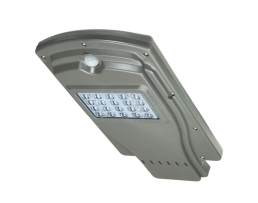 Соларна улична лед лампа с датчик за движение Street Light , Q20W 1бр.
