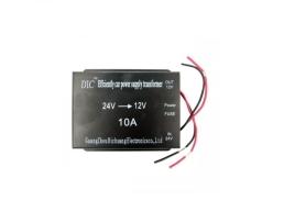 Конвертор-адаптер-преобразувател на напрежение Vertex от 24V на 12V 10A 120W 1бр.