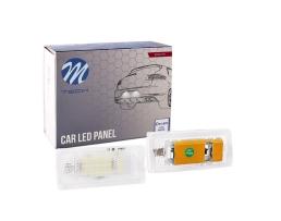 Осветление за регистрационния номер M-Tech ,Диодно, BMW E46 CLP007 1бр.