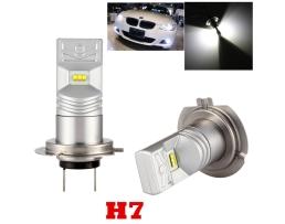 Комплект LED крушка за фар H7 ZES ™ 20W 1600 lm на крушка 1кт.