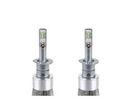 Комплект LED Крушки за фар AMIO RS  H1 - 50W 7000 Lm + 200% по-ярка светлина 1кт.
