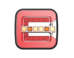 Стоп диоден Amio DYNAMIC LEFT / RIGHT - RCL-08-LR, за каравани ремаркета бусове и др., 1 брой, 02373 1бр.