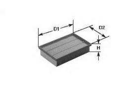 Въздушен филтър за ALFA ROMEO: Alfa 164; WA50-302, MA628, WFP-93.21 1бр.