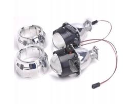 Комплект Лупи за вграждане с адаптери и решетки Gatling Gun 1кт.