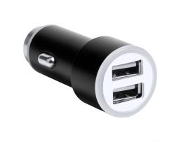 Универсален 2 USB порта адаптер за зарядно за кола,1A / 2.1A-12V (Бързо зареждане) 1бр.