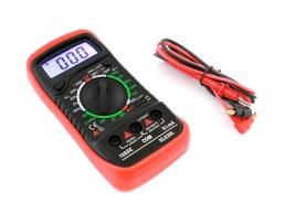 Цифров мултиметър, мултицет Autoexpress,XL830L,Измерване на постоянно (DC) и променливо (AC) напрежение 1бр.