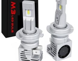 Комплект диодни крушки за фар LED H7 , ZES M3 5166 ,TrueLM 1кт.