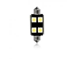 ДИОД СУЛФИТЕН C10W FESTOON CANBUS 4 LED  5050SMD T11X42 MM 4549 2бр.