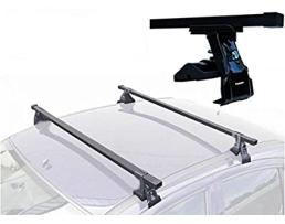 Комплект багажни греди за автомобил Perflex RB 400 с ключ напречни греди за автомобил с гладък покрив 2010 (правоъгълна дъга) 1бр.