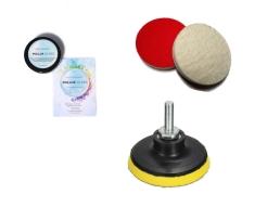 Комплект за отстраняване на драскотини от автомобилни стъкла Pollux PG025-1 , 50гр 1кт.