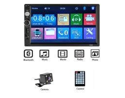 Мултимедия ZAPIN 7010B Bluetooth V2.0 Автомобилен аудио MP5 плейър с камера за подпомагане паркирането 1бр.