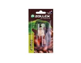 Ароматизатор за кола, течен Zollex glass little bottle Coffe 1бр.