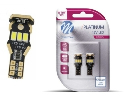 Комплект LED Крушки M-TECH, Platinum, OSRAM Opto Semiconductors, T15 W16W 9xSMD5630 CANBUS 12V 1кт.