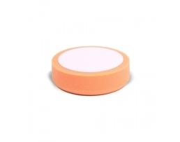 Гъба за полиране на пластмаса и метал AMIO 80x25мм  Гладка Полираща гъба с Велкро контактна повърхност,оранжева 1бр.