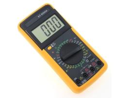 Цифров мултиметър,мултицет DT 9205A  за измерване на постоянно (DC) и променливо (AC) 1бр.