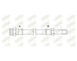 Спирачен маркуч/Спирачни тръбопроводи за автомобил, гъвкав, ENZet, EZ0016 1бр.