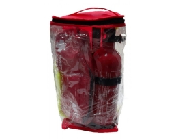 Чанта с цип подходяща за Авариен комплект за безопастност 1бр.