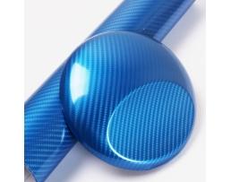 Карбоново фолио Automax, син, ширина 127см 1м.