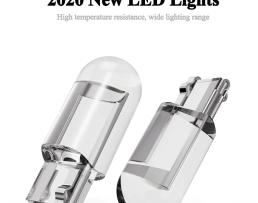 ДИОД Т10 Car T10 Led Bulbs 194 168 W5W LED Light Cold White 2бр 1кт.