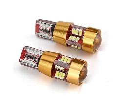 Светодиодна крушка LED CANBUS 27SMD 3014 T10e (W5W) бял 12V 1бр.