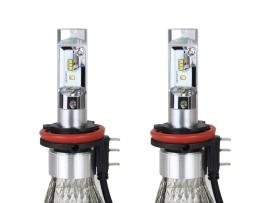 LED крушки за кола RS + серия H15 50W мини 1кт.