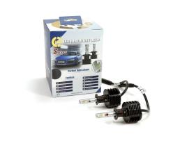Комплект LED Диодни Крушки за фар H1 50W S Series NSSC за фарове 1кт.