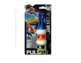 Лепило PULSAR MET-AL двукомпонентно - Течен Алумин   50гр 1бр.