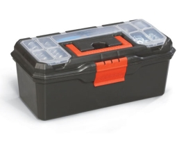 Куфар за инструменти пластмасов 16'' 1бр.
