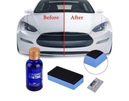 Течно Стъкло CARPRIE Керамично , Хидрофобно покритие за предпазване и блясък на автомобилната боя HGKJ H9 3бр.