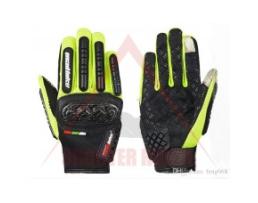 Ръкавици за мотор MAD BIKE /Моторъкавици/, размер XL, Зелени, Цели, MAD-06 Carbon Series 1кт.