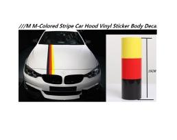 Винилови Стикери за кола Vertex Препоръчани за BMW M3 M5 M6 E46 E92,Немски флаг 1бр.