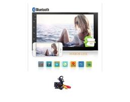 Мултимедия ZAPIN 7011А 7'' Android ,GPS ,Навигация , Bluetooth , WiFi ,2Din  Мултимедиен плейър Универсален GPS DAB Авто радио Сензорен екран Стерео Аудио плейър  + Камера за подпомагане паркирането 1кт.