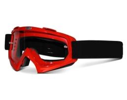 Мото очила с прозрачно стъкло Autoexpress,Червени 1бр.