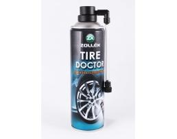 Препарат на спрей за поправка на спукани автомобилни гуми Zollex 450мл тип резрвна гума 1бр.