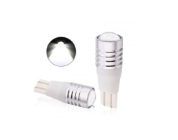 Комплект LED Лед Диодни Крушки Т10 Amio 2бр 3W CREE Chips R3  Супер ярък светод 1кт.