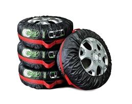 """Калъфи за гуми на кола Autoexpress ,Универсални,Непромокаеми ,13""""-19"""" цола,4бр 1бр."""