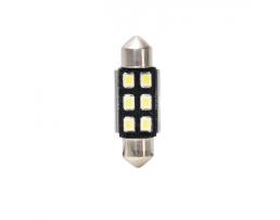 ДИОД LED SV8,5 36 MM (C5W) CANBUS 6XLED VECTA 2бр.