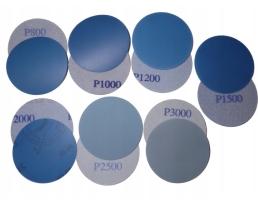 Комплект от 14 броя Велкро абразивни дискове / водна шкурка 75 мм 1кт.