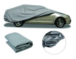 Покривало за кола,автомобил Car Cover, M 432х173х120 см. двойно подсилено и подплатено , Сивo, М 1бр.