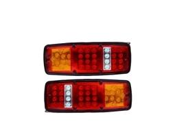 Комплект LED диодни стопове Autoexpress, 2 броя, за Бус, ТИР, Ремарке, Каравана и други 1кт.