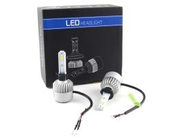 Комплект LED Лед Диодни Крушки за фар Amio H1 - 36W. 16000 Lm Над 150% по-ярка светлина. 1кт.
