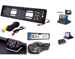 Система за паркиране камера в стойката за номер и Табакера дисплей 1кт.