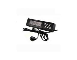 Дигитален термометър с часовник и сонда (VST-7065) 1бр.