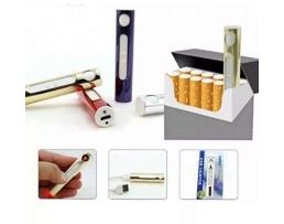 Запалка електронна USB зареждане за цигари без пламък 1бр.