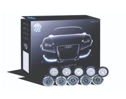 Дневни светлини M-TECH LED 825HP черни 1кт.